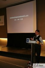 Mark Brooks at the 2007 Internet Dating and Matchmaking Conference in Barcelona