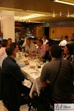 Lunch at the 2007 Barcelona Internet Dating Conference and Matchmaking Convention