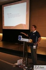 Ross Williams at the 2007 European Internet Dating Conference in Barcelona Spain