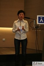 Sabrina Lee at iDate2007 Barcelona