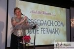 Julie Ferman (Cupid's Coach) Winner of Best Matchmaker in Miami am 28. January 2010 Internet Dating Industrie Awards