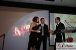 Match.com receiving Best Dating Site Award auf der 2010 Internet Dating Industrie Awards in Miami