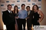 Match.com Executives with 2 Awards (Best Dating Site and Best Dating Site Design) at the 2010 Miami iDate Awards