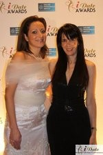 Ravit Ableman and Julie Spira at the 2010 Miami iDate Awards Ceremony