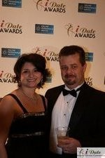 Scott + Emily McKay (X & Y Communications, Award Nominees) at the 2010 iDateAwards Ceremony in Miami