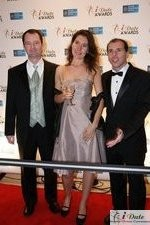 Tanya Fathers (Dating Factory, Award Nominee) auf der 2010 Miami iDate Awards Zeremonie