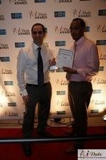 Friendfinder Executives with Best Affiliate Program Award auf der 2010 Miami iDate Awards