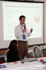 Frederick Vallaeys at the Google Session Internet Dating Conference Los Angeles iDate 2010