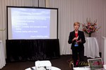 Ann Robbins (CEO of eDateAbility) at the 2011 網路 Dating Industry Conference in L.A.