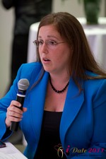 Mae Flexer (Representative from Connecticut) discussing Online Dating Legislation at the 2011 Online Dating Industry Conference in Los Angeles