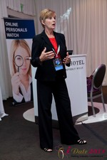 Ann Robbins (CEO of eDateAbility) at the 2011 网上 Dating Industry Conference in L.A.