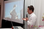 Chas McFeely (CEO of HookChasUp.com) at the 2011 網路 Dating Industry Conference in L.A.