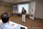 Julie Ferman (CEO of Cupid 's Coach) at the June 22-24, 2011 Dating Industry Conference in L.A.