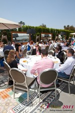 Mobile Dating Executives Meet for the iDate Lunch à l'édition 2011 de la En ligne la conférence de l'industrie des rencontres à L.A.
