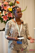 Robinne Burrell (Vice President at Match.com) at the June 22-24, 2011 L.A. 在線 and Mobile Dating Industry Conference