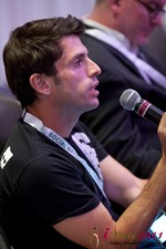 Joel Simkhai (CEO of Grindr) at the June 22-24, 2011 Dating Industry Conference in L.A.