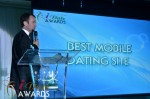 Mark Brooks - Announcing Best Mobile Dating Site Winner for 2012 aux prix iDate, Miami, 2012