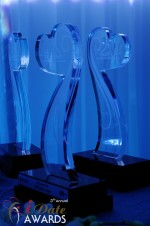iDate Award Trophies in Miami Beach at the January 24, 2012 Internet Dating Industry Awards