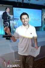 Joel Simkhai - Grindr.com - Winner of Best Mobile Dating App 2012 in Miami Beach at the January 24, 2012 Internet Dating Industry Awards