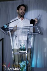 Joel Simkhai - Grindr.com - Winner of Best New Technology 2012 in Miami Beach at the 2012 Internet Dating Industry Awards