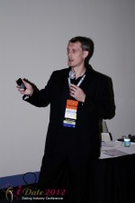 Dmitry Gritsenko - CEOMaster of Code at the January 23-30, 2012 Internet Dating Super Conference in Miami