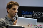 David Khalil (Co-Founder of eDarling) at the September 10-11, 2012 Mobile and Online Dating Industry Conference in Koln