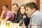 Final Panel (Benjamin Bak of Lovoo) at the 2012 Koln European Union Mobile and Internet Dating Summit and Convention