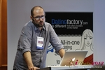 Matteo Monari (Co-Founder of BizUp) at the September 10-11, 2012 Mobile and Online Dating Industry Conference in Koln