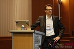 Moritz Von Tobiesen (Account Manager at Google) at the 2012 Euro Internet Dating Industry Conference in Köln
