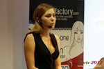Oksana Reutova (Head of Affiliates at UpForIt Networks) at the 2012 E.U. Internet Dating Industry Conference in Cologne