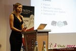 Oksana Reutova (Head of Affiliates at UpForIt Networks) at the 9th Annual E.U. iDate Mobile Dating Business Executive Convention and Trade Show