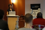 Tanya Fathers (CEO of Dating Factory) at the September 10-11, 2012 Mobile and Online Dating Industry Conference in Köln