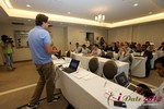 Alexander Harrington (CEO of MeetMoi)  at the 2012 Online and Mobile Dating Industry Conference in L.A.