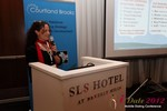 Beverly May (CEO and Founder of Minidates) at the 2012 Internet and Mobile Dating Industry Conference in California