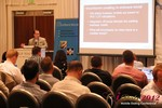 Brian Bowman (CEO of TheComplete.me) during Keynote Address at iDate2012 West