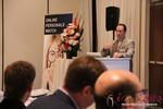 Brian Bowman (CEO of TheComplete.me) during Keynote Address at iDate2012 Beverly Hills
