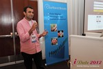 Dwipal Desai (CEO of TheIceBreak.com) at the iDate Mobile Dating Business Executive Convention and Trade Show