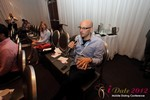 "Audience CEO's provide advice during the ""iDate CEO Therapy"" session at the iDate Mobile Dating Business Executive Convention and Trade Show"