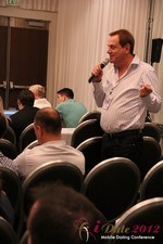 Audience questions during the Keynote session at the iDate Mobile Dating Business Executive Convention and Trade Show