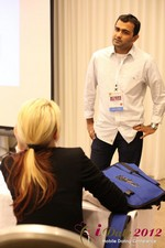 Dwipal Desai (CEO of TheIceBreak.com) covers monetization during a relationship at the June 20-22, 2012 Los Angeles 在線 and Mobile Dating Industry Conference