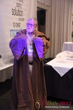 Jonathan Crutchley (Chairman at Manhunt) is actually Obi Wan Kenobi! at the 2012 Internet and Mobile Dating Industry Conference in Los Angeles