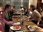 Lunch at the October 25-26, 2012 Mobile and Internet Dating Industry Conference in Russia