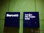 The Barcelo Hotel at the September 16-17, 2013 Cologne European Online and Mobile Dating Industry Conference
