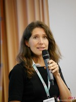Tanya Fathers (CEO of Dating Factory) at the 2013 Köln European Mobile and Internet Dating Summit and Convention
