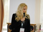 Karolina Shaeffer (Sr. Online Marketing Manager @ Metaflake) at the 2013 E.U. Online Dating Industry Conference in Köln