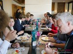 Lunch at the September 16-17, 2013 Mobile and Internet Dating Industry Conference in Köln