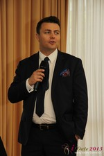 Maciej Koper (CEO of World Dating Company) at the September 16-17, 2013 Mobile and 互联网 Dating Industry Conference in Koln