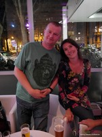 Pre-Conference Party (Max shows up!) at the September 16-17, 2013 Koln European 网上 and Mobile Dating Industry Conference