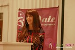 Julie Spira - CEO of CyberDatingExpert.com at the 34th iDate Mobile Dating Business Trade Show
