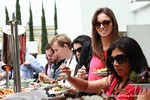 Lunch at the 34th Mobile Dating Business Conference in California